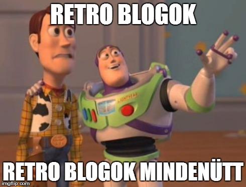 Retro blogok mindenütt
