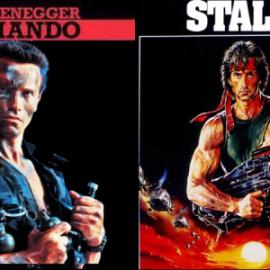 Arnold Schwarzenegger vagy Sylvester Stallone?