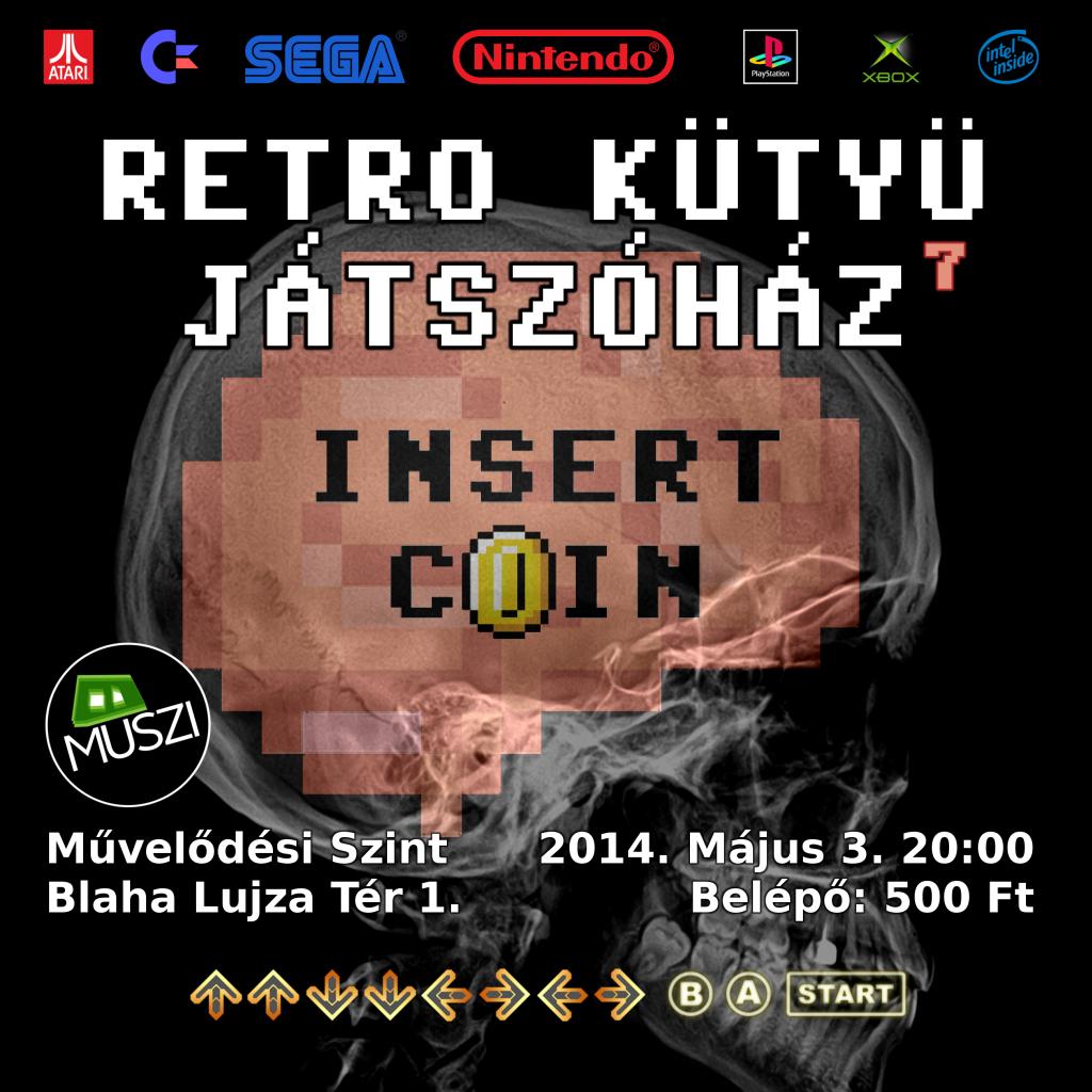 Retro Kütyü Játszóház 7 + Conpót 2014.05.03.