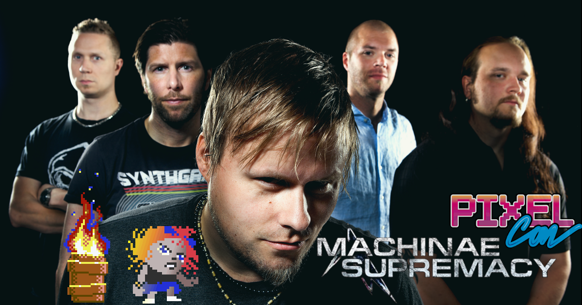 Machinae Supremacy PixelConra
